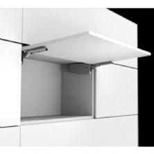 Samet d-lite lift gri kalkan kapak mekanizması (menteşesiz açılım)