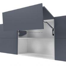 Samet duolift katlanır kalkan kapak mekanizması (çift kanat açılım)